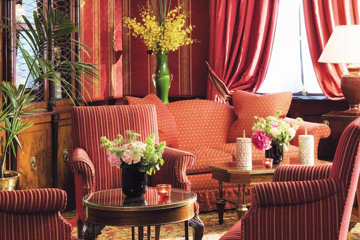 Hotel Franklin Roosevelt - Salon rouge