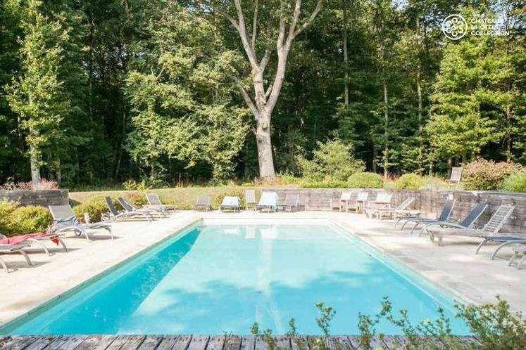 Château du Breuil - La piscine