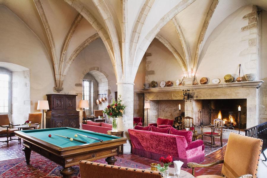 Château de Gilly - Salle voutée