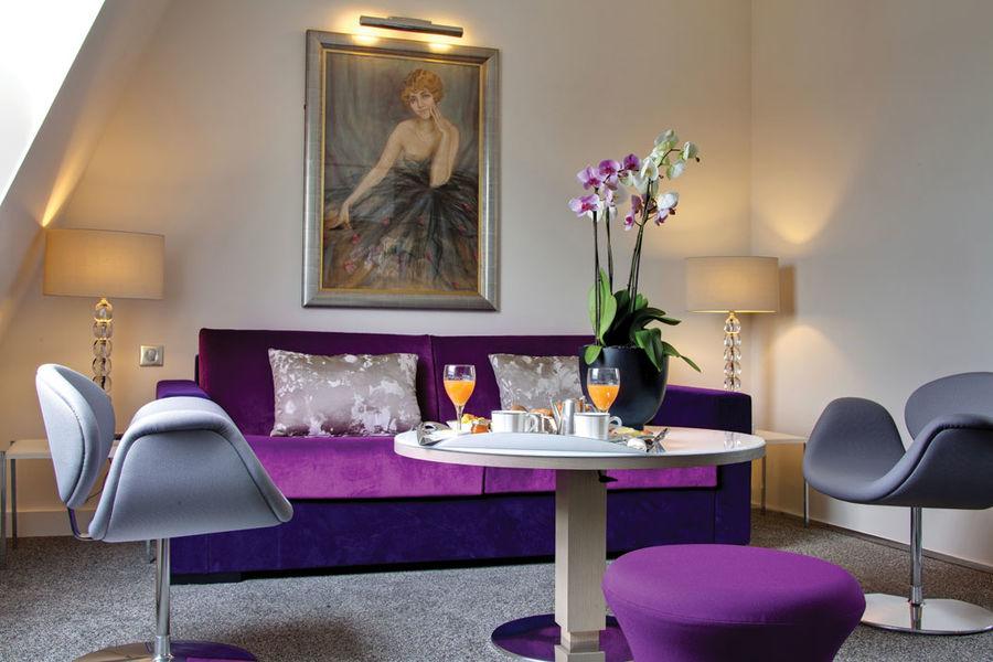 Villa Maillot - Petit déjeuner en chambre