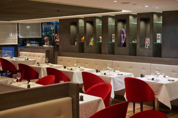 Hôtel Marriott Lyon Cité Internationale - Restaurant Ambiance