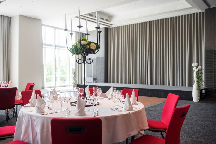 Hôtel Marriott Lyon Cité Internationale - Salle en banquet 1