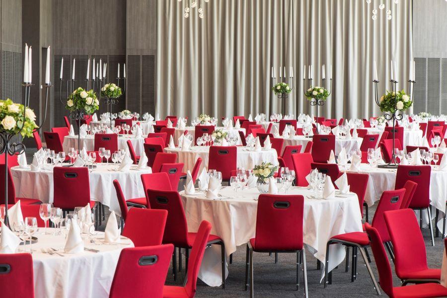 Hôtel Marriott Lyon Cité Internationale - Salle en banquet 3