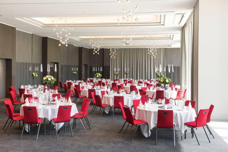 Hôtel Marriott Lyon Cité Internationale - Salle en banquet 4