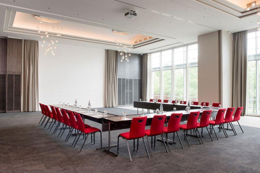 Hôtel Marriott Lyon Cité Internationale - Salle en U 1