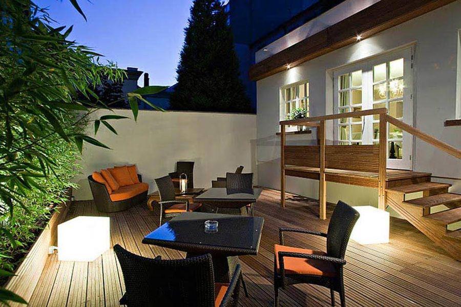 Hotel Villa d'Est - Les espaces extérieurs 2