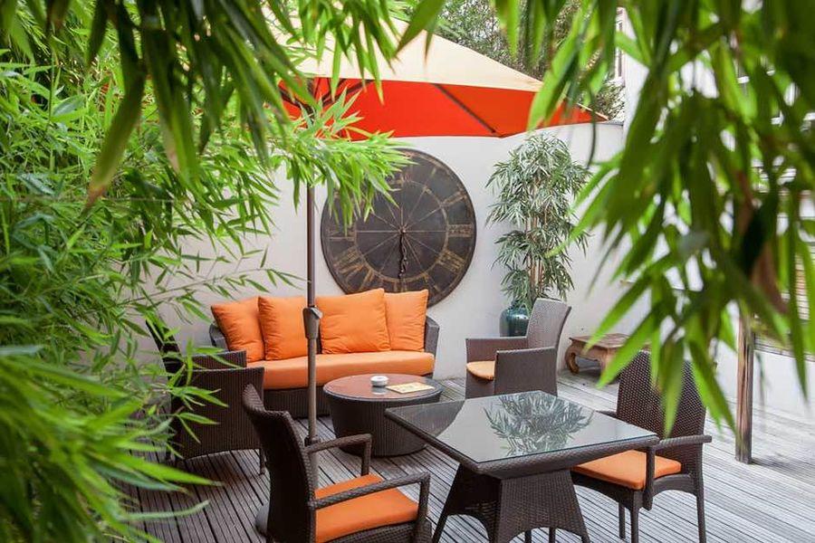 Hotel Villa d'Est - Les espaces extérieurs