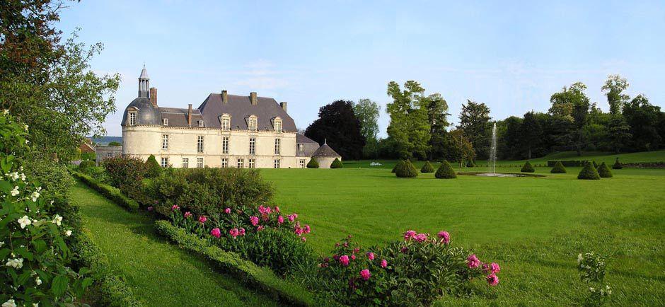 Château d'Etoges - Vue extérieure