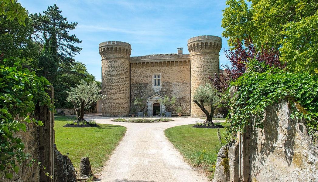 Château de Massillan - Façade du château