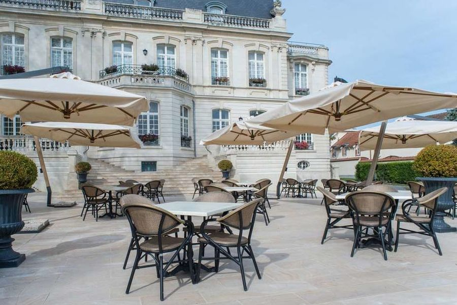 Château de Rilly - Les espaces extérieurs