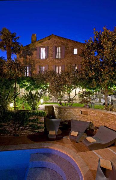Hostellerie le Castellas - Vue nocturne
