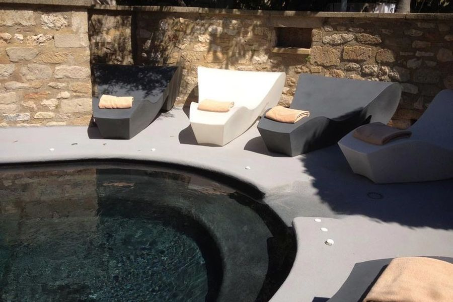 Hostellerie le Castellas - La piscine