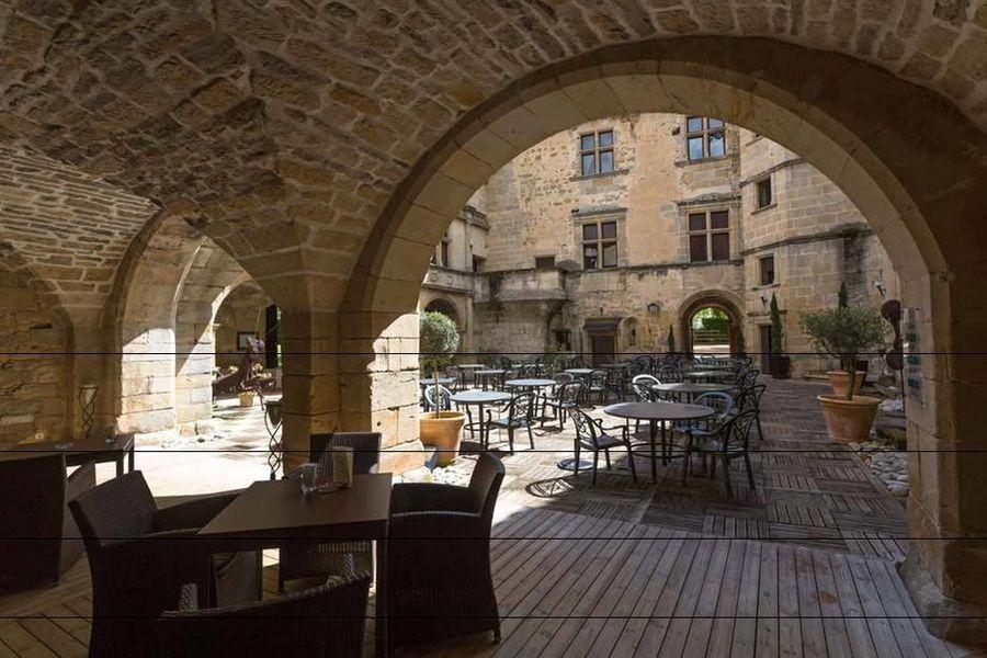 Château des Ducs de Joyeuse - Les espaces extérieurs