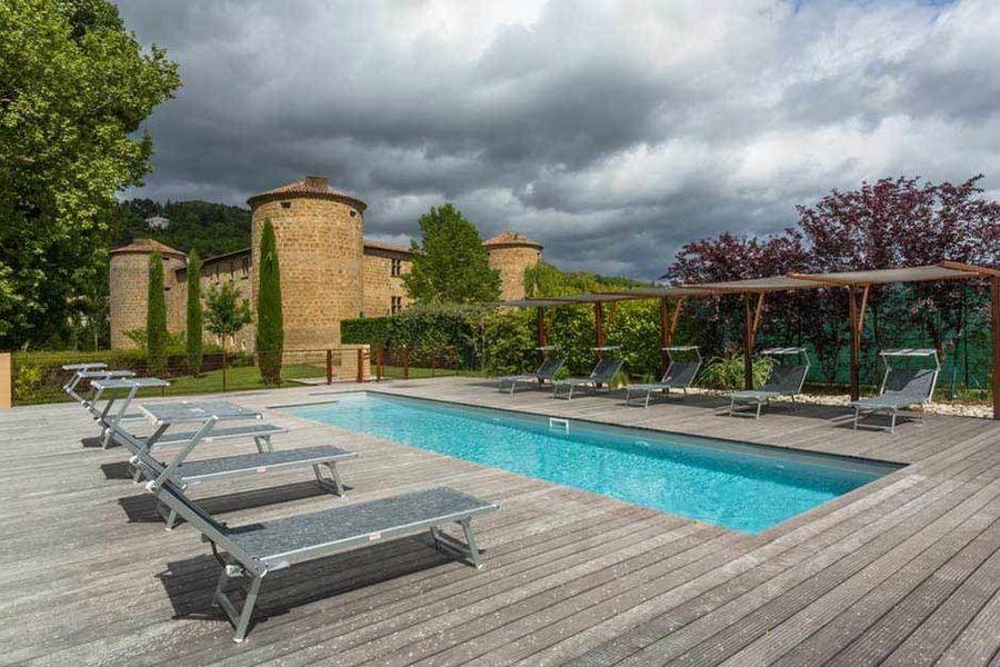 Château des Ducs de Joyeuse - La piscine