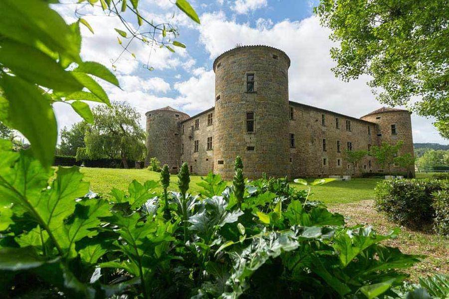Château des Ducs de Joyeuse - Vue extérieure