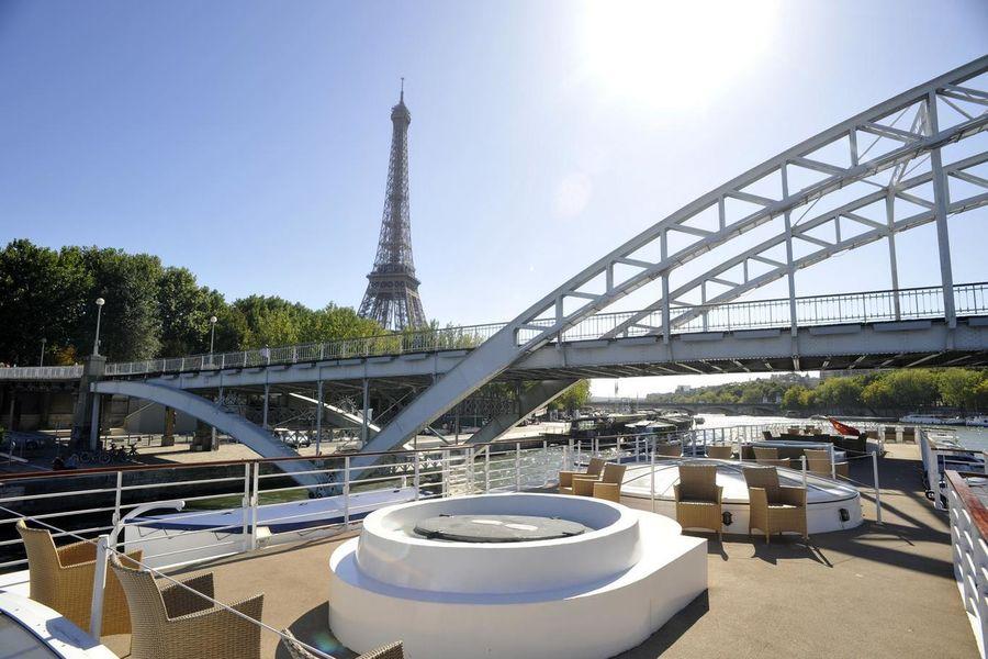 Yachts de Paris Paquebot - Pont supérieur 2