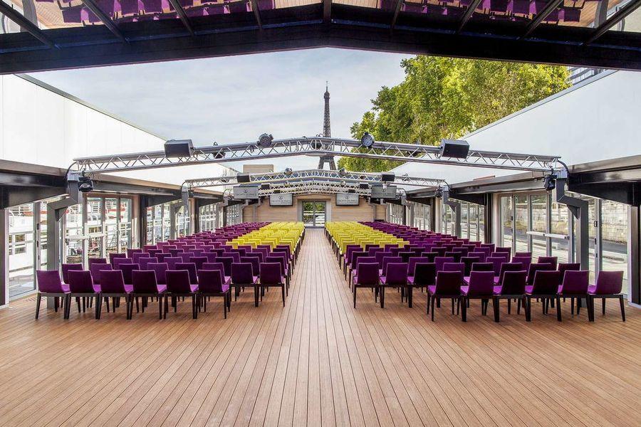Les Salons Nework - Verrière Format théâtre 2