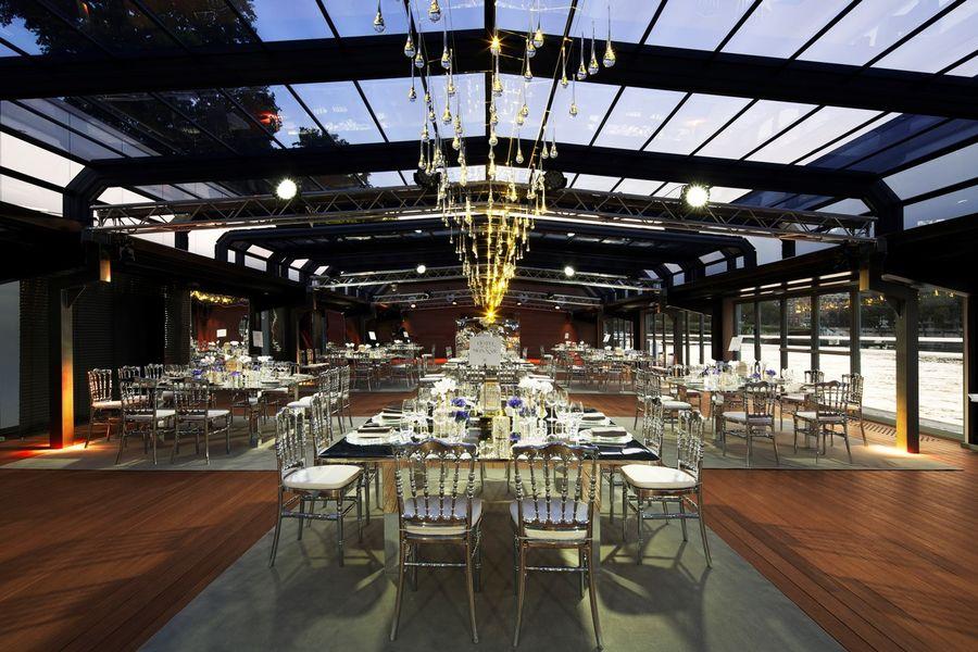 Les Salons Nework - Verrière Format banquet 3