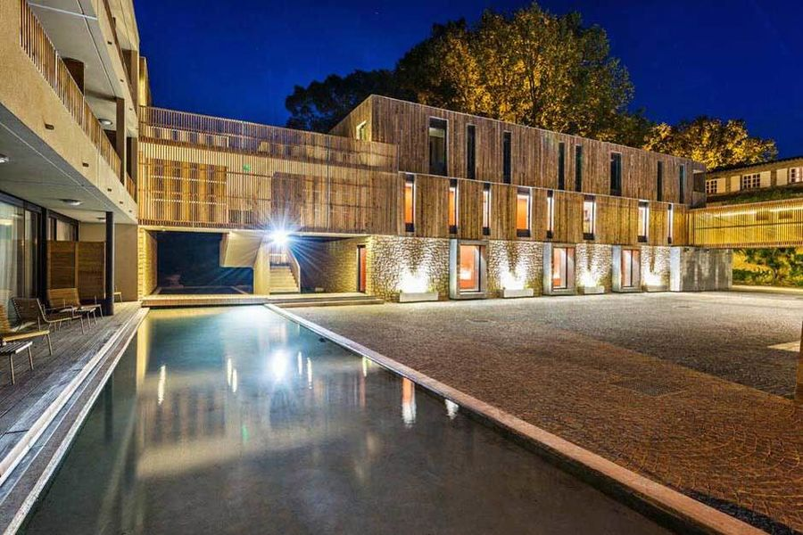 Moulin de vernegues vue nocturne