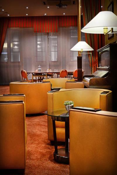 Glob et Cecil Hôtel - Les espaces intérieurs