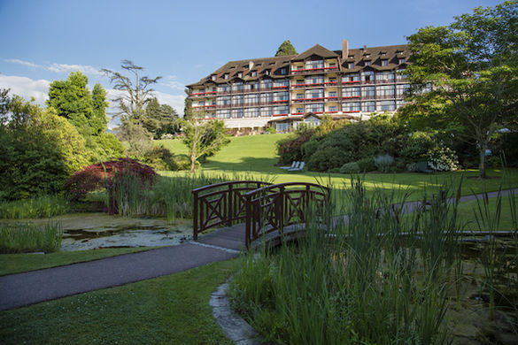 Hôtel Ermitage Evian Resort - Les espaces extérieurs