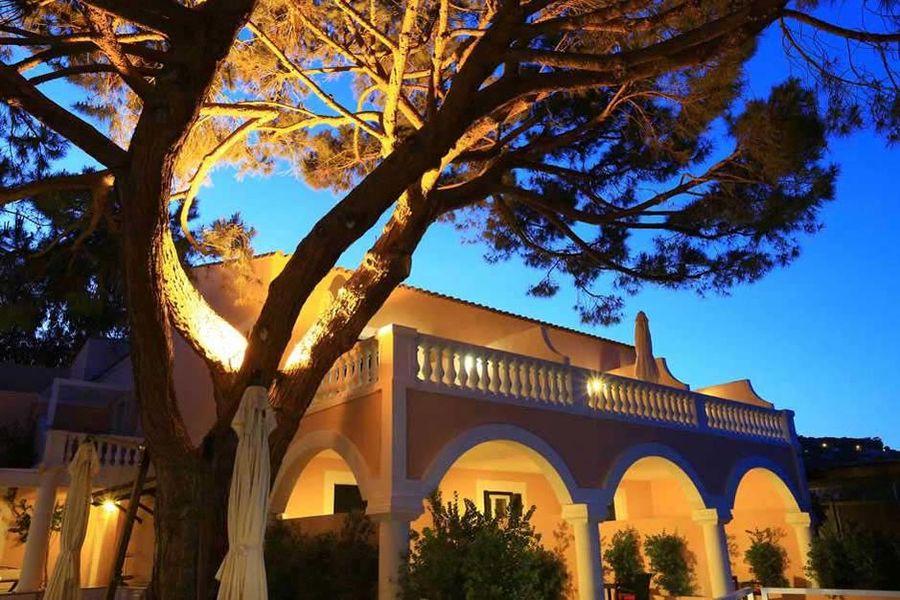 Hôtel Demeure Les Mouettes - Vue nocturne