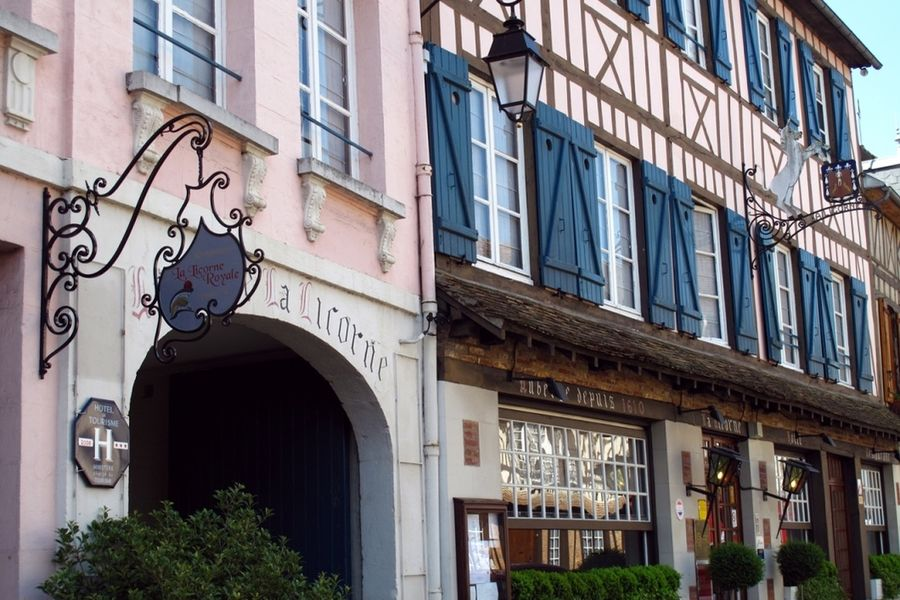 Hôtel La Licorne - Vue extérieure