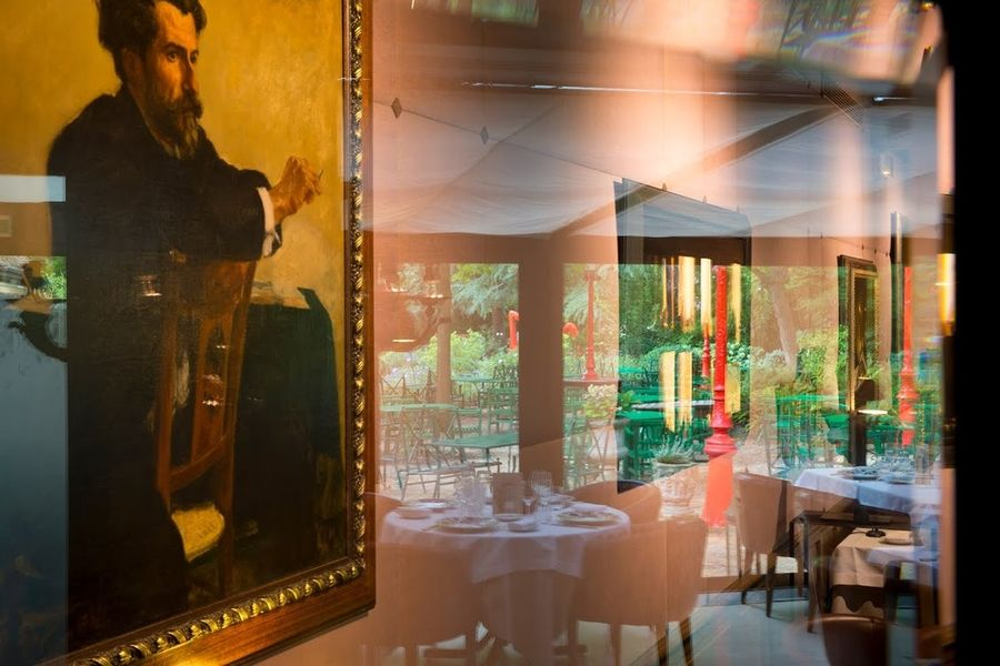 Cazaudehore - Salle de restaurant et terrasse