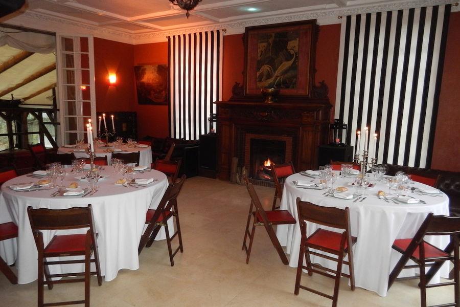 Manoir de l'Île aux Loups - Disposition banquet 2