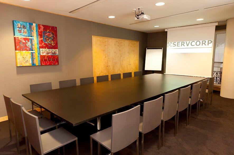 Centre de Conférences Edouard VII - Salon Melbourne style réunion (1)