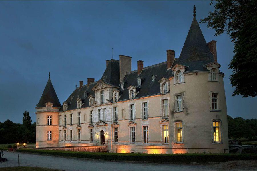 Château d'Augerville - Vue nocturne