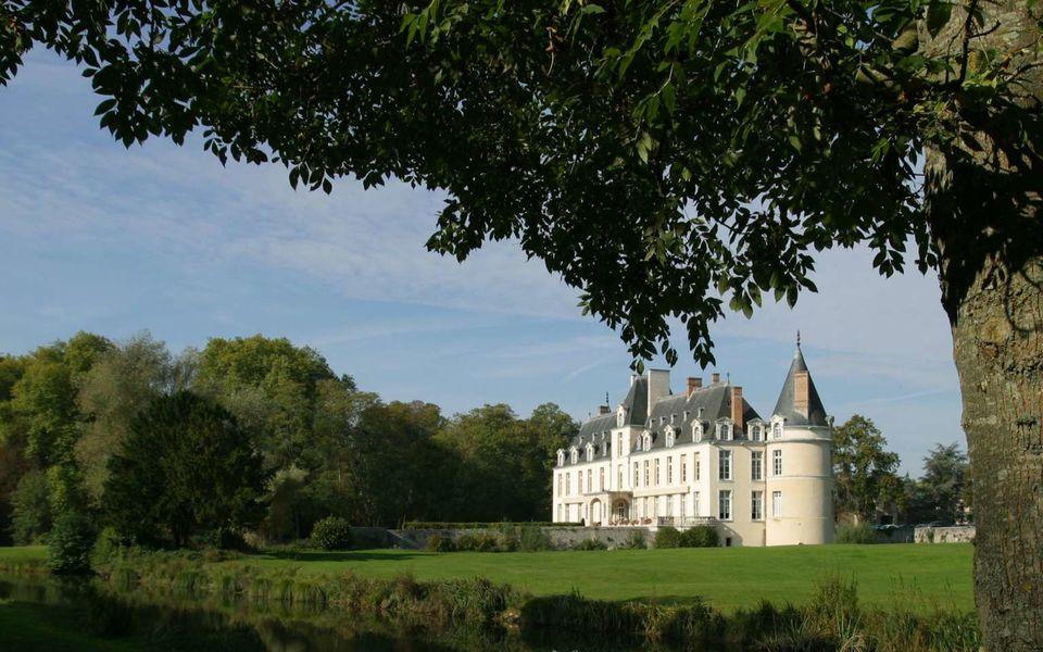 Château d'Augerville - Vue extérieure