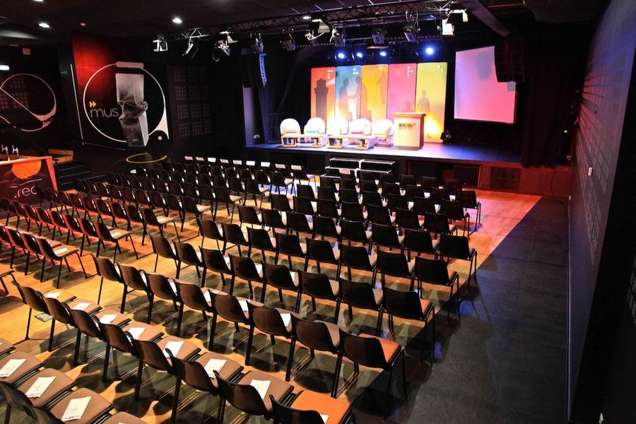 Pan piper conference auditorium