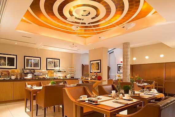 Le Six Hôtel - Salle de petit déjeuner