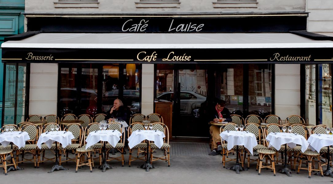 Café Louise - Terrasse