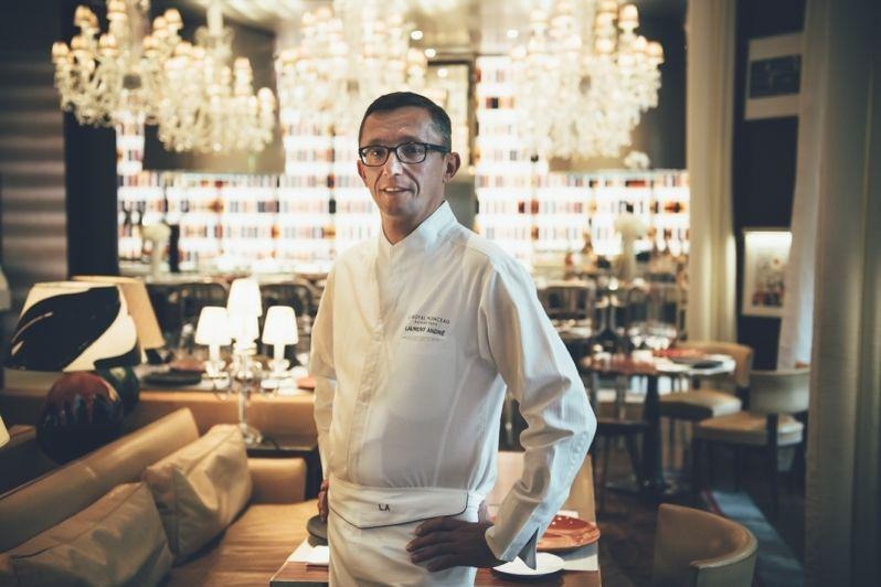 Le Royal Monceau Raffles Paris -Chef Laurent André 1
