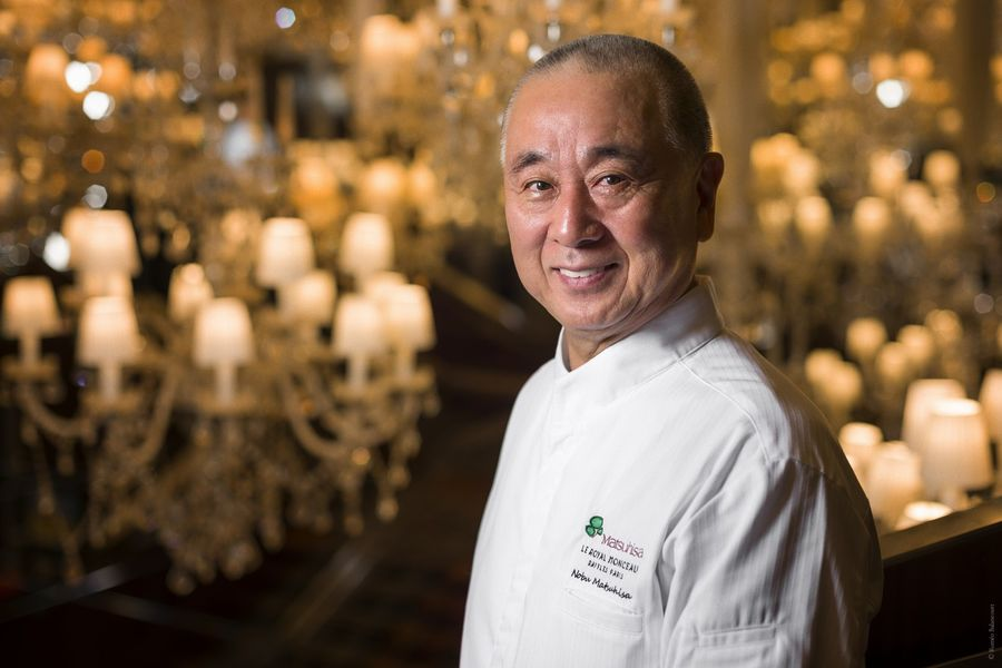 Le Royal Monceau Raffles Paris -Chef Nobu Matsuhisa 1