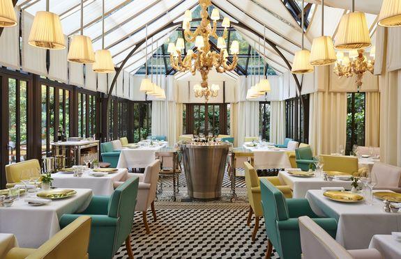 Salle séminaire  - Restaurant Il Carpaccio - Une étoile Michelin