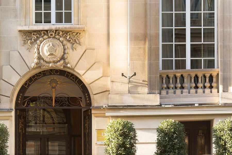 Hôtel Pershing Hall - Entrée 1