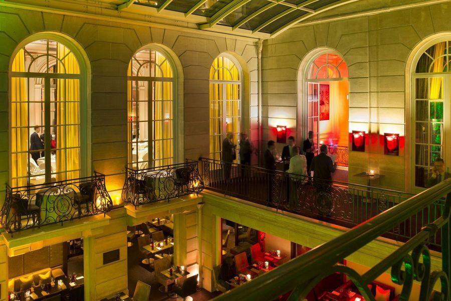 Hôtel Pershing Hall - Terrasse 2