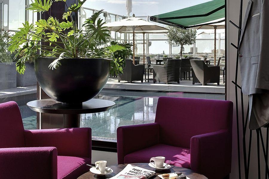 Pullman Montpellier Centre -  Bar sur le toit terrasse
