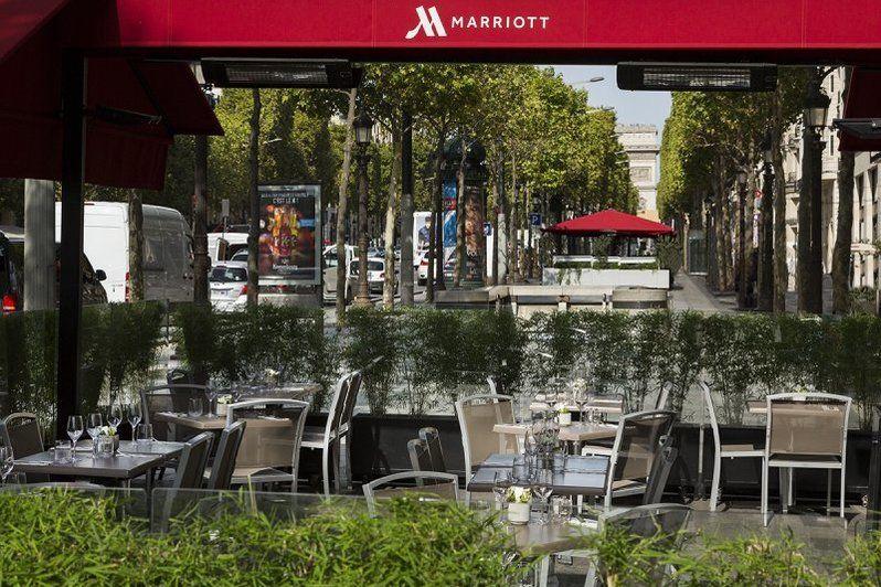 Hôtel Paris Marriott Champs-Elysées - Entrée
