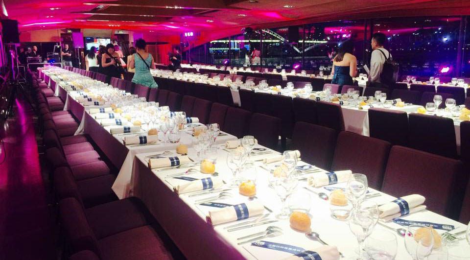 Le Paris - Disposition banquet