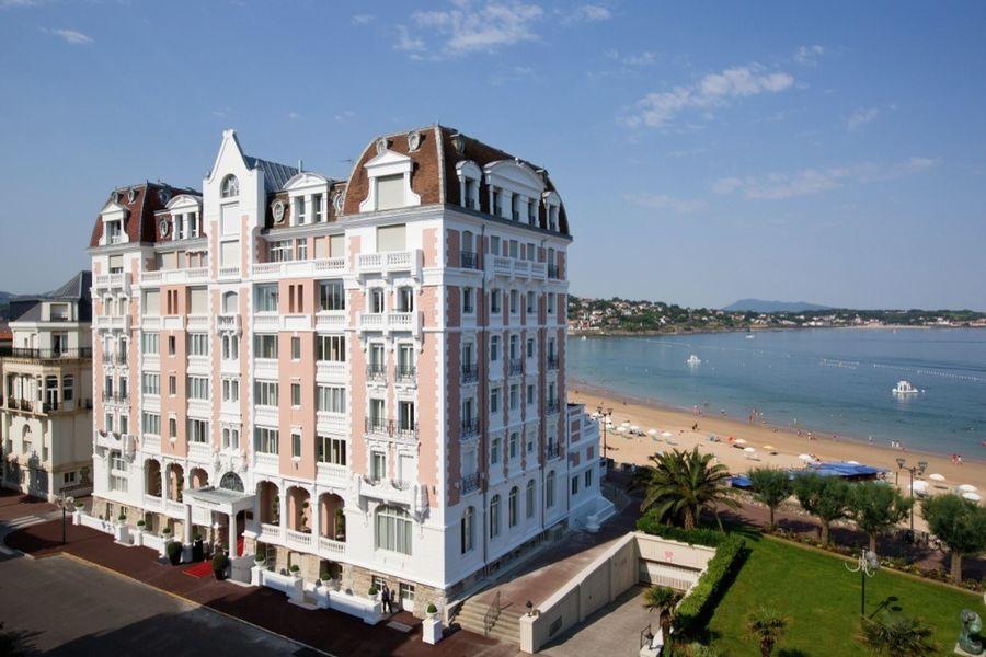 Grand Hôtel Saint Jean de Luz - Façade
