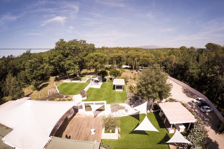 Villa Azzaro - Vue aérienne