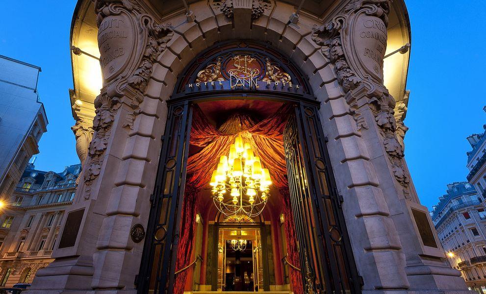 Hôtel Banke - Entrée