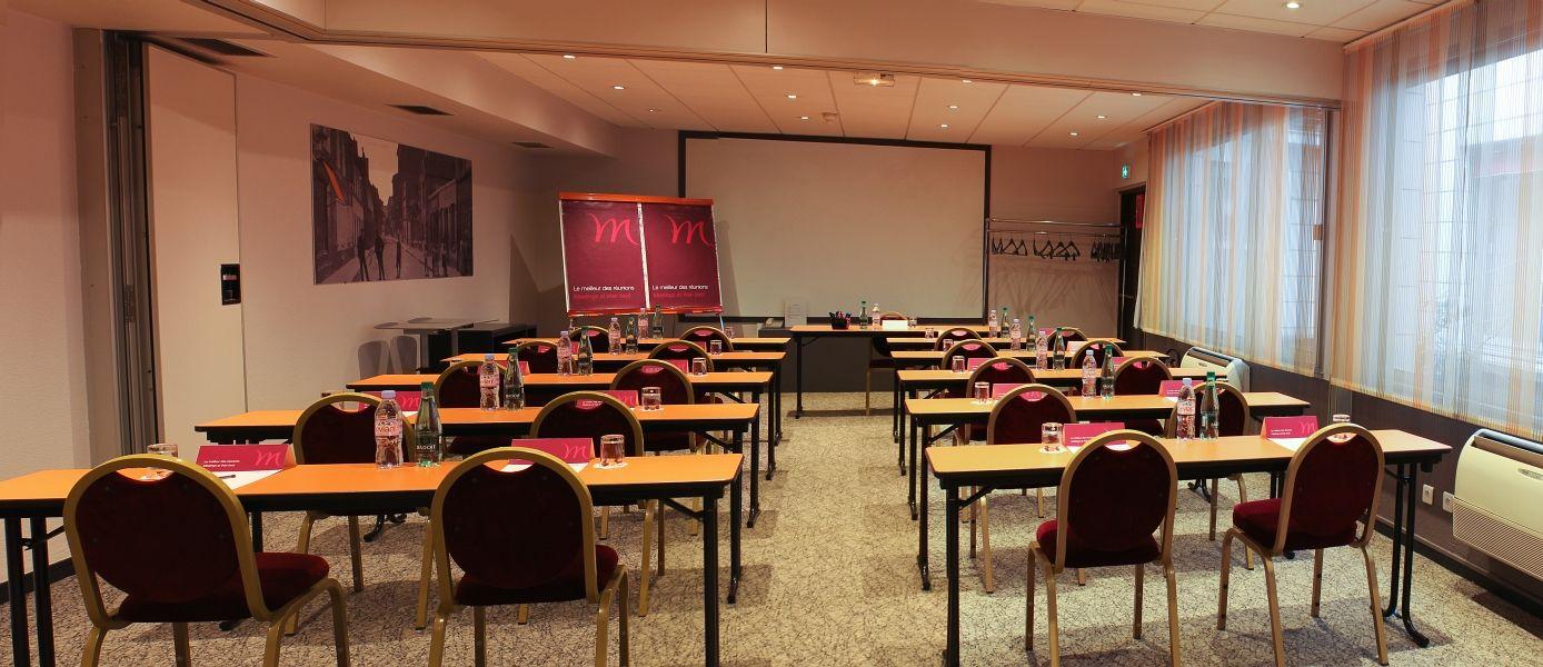 Mercure Paris Paris 15 Porte de Versailles **** - Salle Saint Lambert en disposition classe