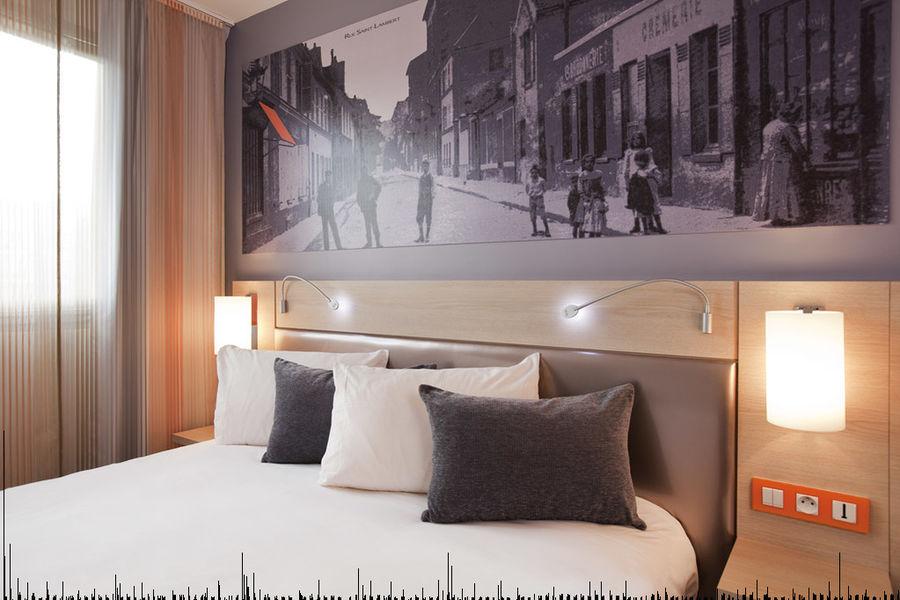 Mercure Paris Paris 15 Porte de Versailles **** - Chambre