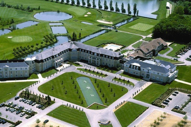 Dolce Chantilly - Vue aérienne du domaine