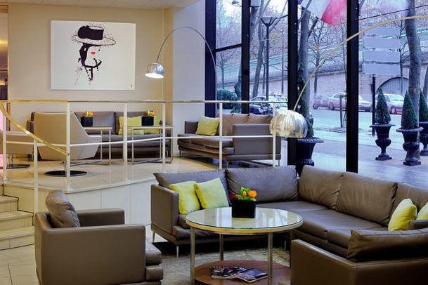 Paris Marriott Rive Gauche - Lobby